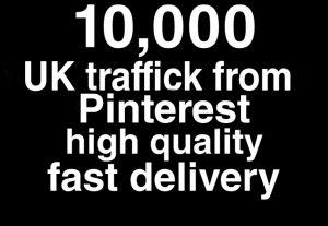 World wide traffick from Pinterest 30 day refill