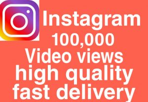 I will give you Add 100,000+ Real High Quality Instagram views