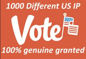 Provide 1000 Different IP Votes On Your Online Voting Contest