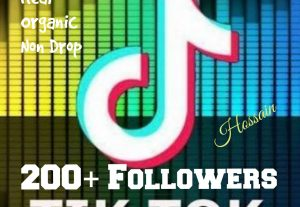 Add 200+ Followers in your Tik Tok post at instant.