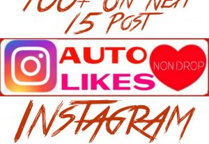 Add 100+ Instagram Auto Post Likes on Next 15 Post
