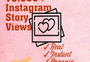 Get 10000+ Instagram Story Views at Instant with best quality, real and organic at only USD $ 3.00