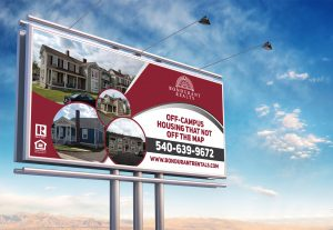 I will design a billboard, yard sign or signage for you within 24 hours