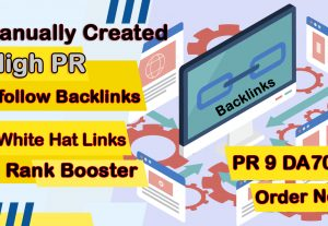 I will boost website ranking by 30 manual white hat high pr dofollow backlinks