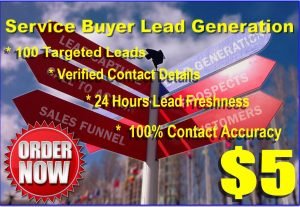 Buyer Leads List For Service Sales