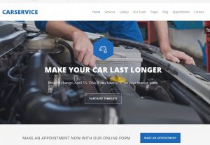 Car Service – Mechanic Auto Shop Template