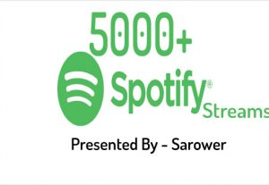 Spotify USA Plays Music Stream 5000+ or 1000 Followers Cheapest Price