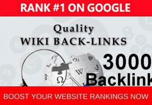 Provide more than 3000 contextual wiki Backlinks