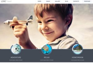 Build website low cost – Love Travel – HTML template