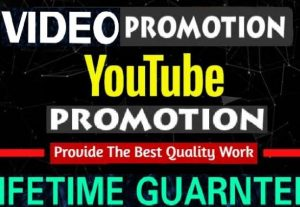 NON-DROP & HIGH QUALITY PROMOTION Youtube Promotion 1000 – 1500 views