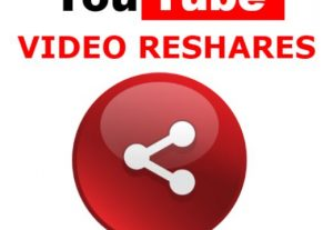 YouTube Reshares to Your YouTube Video from Social Media + Extras Rank up
