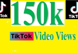 Give You 150k TIKTOK VIDEO VIEWS within 48 Hours Price Only $3