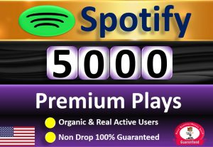 Get 5000+ Premium Plays From HQ Account & A+ Country USA or 𝐔𝐒𝐀/𝐂𝐀/𝐄𝐔/𝐀𝐔/𝐍𝐙/𝐔𝐊, Real and Active Users  Guaranteed