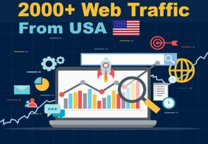 2000 Real Active organic USA Targeted Website Traffic