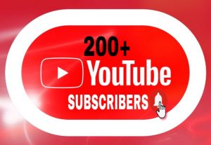 I Will Provide 200+ Youtube Subscribers!!!