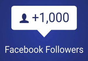 Get 1000 Followers For Your Facebook