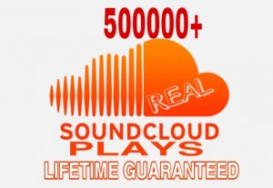 I will Provide 500000+ Sound Cloud Plays Instant & Lifetime Guaranteed