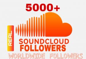 I will Provide 5000+ Sound Cloud Followers Instant & Non Drop!!!
