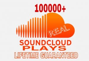I will Provide 100000+ Sound Cloud Plays Instant & Lifetime Guaranteed