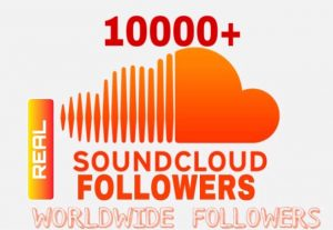 I will Provide 10000+ Sound Cloud Followers Instant & Non Drop!!!