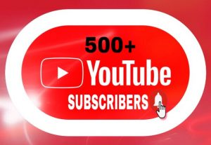 I Will Provide 500+ Youtube Subscribers!!!