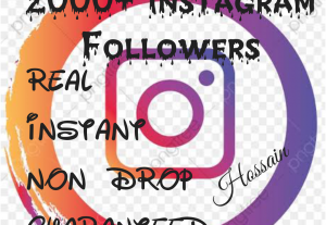 Add 2000+ Instagram Followers at instant, HQ, Non Drop & 30 days Refill Guaranteed!!