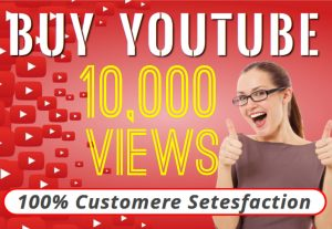 I will provide you 10000 YOUTUBE organic views