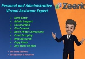 Your Expert Personal and Administrative Virtual Assistant