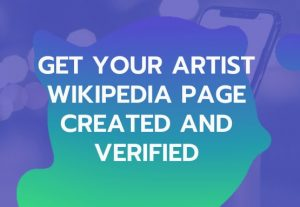 Create a premium wik pedia page for your business and individual