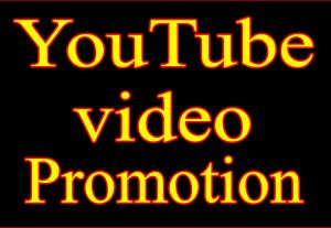 2000 YouTube video views+100 likes+20 custom comments for $10