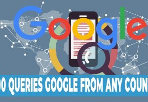 I'm going to send you 1000 Google queries of the keyword you're going to give me and click on your website.