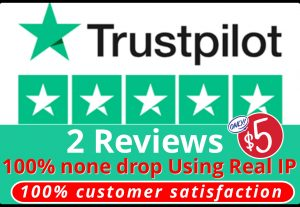 I will provide you 2 HQ NON DROP T-p Reviews