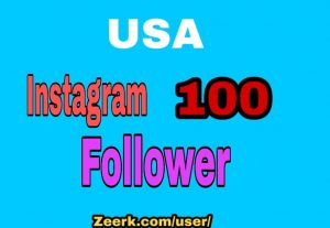 USA 100+ INSTAGRAM FOLLOWERS REAL ORGANIC, HIGH QUALITY PROMOTION WITH NON DROP GUARANTEED