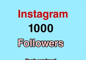Add 1000+ Instagram Followers with 100% Non Drop guaranteed for only $5