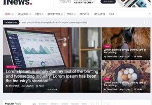 Online news portal in custom php