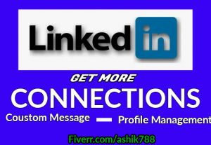 I will do linkedin marketing and grow connection