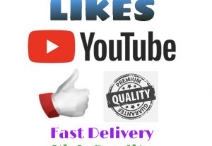 I will add 1000+ LIKES on YouTube ! Very Fast Delivery, High Quality & Non Drop !