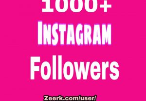 i will Add 1000 Instagram Follower PROMOTION, REAL ORGANIC WITH NON DROP GUARANTEED