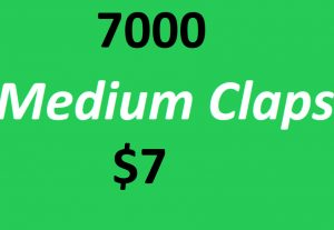 Give 7000+ Medium Claps on your Medium Article medium