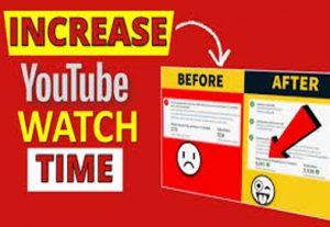 Get 4000 Freaking YouTube Watch Hours!
