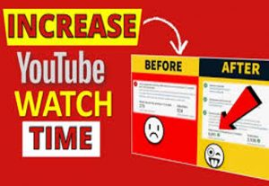 Get 500 Hours Of YouTube Watch Time!