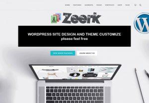 I will create responsive WordPress website and customize Theme