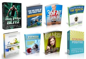 I will give you 100 fitness and health ebooks with resell rights
