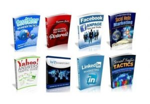 I will give you 100 social media ebooks with resell rights