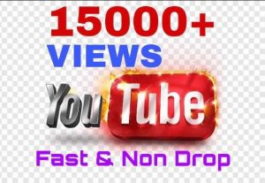 Get 15000+ youtube views instantly!!! real & non drop