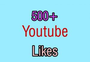 I Will Add High-Quality Non-Drop 500+YOUTUBE Video Likes