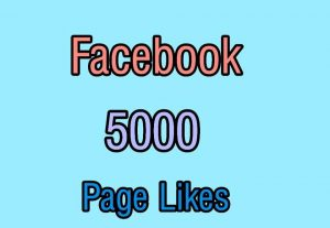 I will Provide 5000 Likes on Your Facebook page in $50