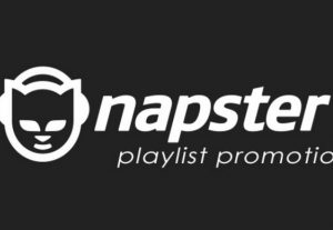 Your track on a Napster Playlist playing 24/7 for one month
