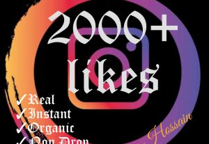 Instant 2000+ likes with HQ, Real & Non Drop Guaranteed!!