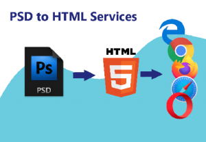I will convert PSD to HTML responsive page